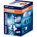 Kit lamparas Osram h7 night breaker plus 55 w. 12 v. px26d, 90% + luz (f.r.)